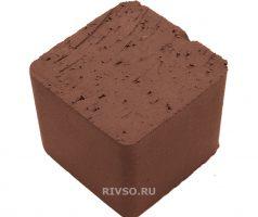 Брусчатка мозаика коричневая