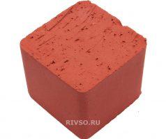 Брусчатка мозаика красная
