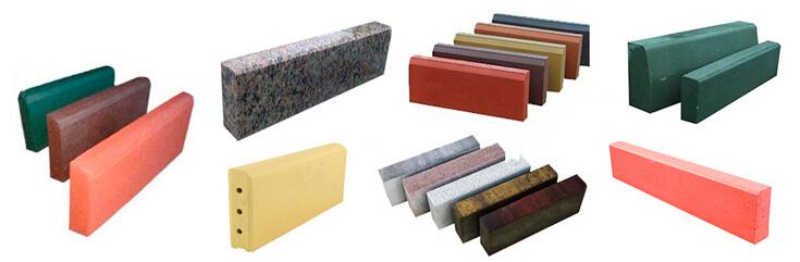 БОРДЮРЫ бетонные и клинкерные